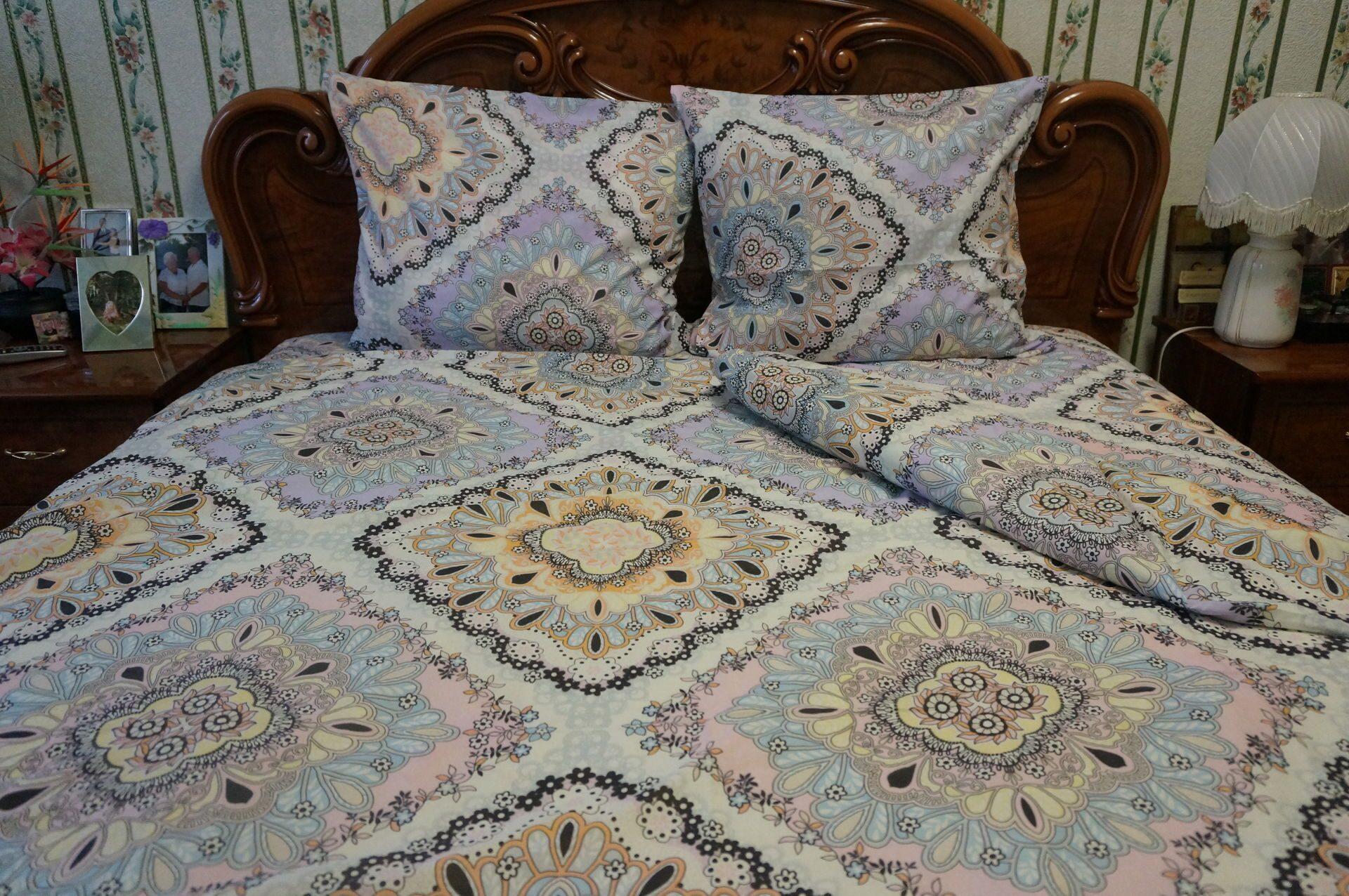 Постельное белье Этель Арт Комплект 1.5 спальный Бязь